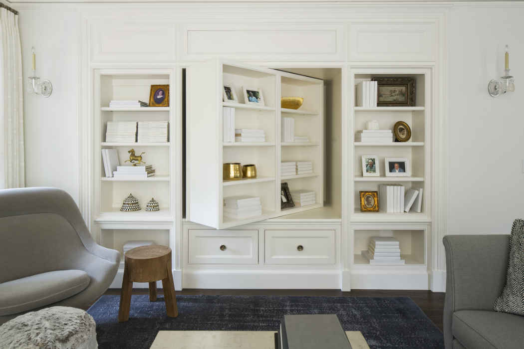 Bookcase Storage Interior Design