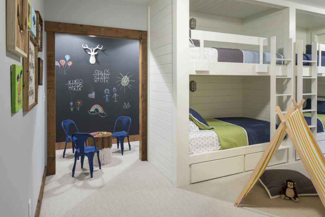 Bunk Bedroom Interior Design