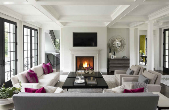 Creating a Chic Living Room Design for Entertaining