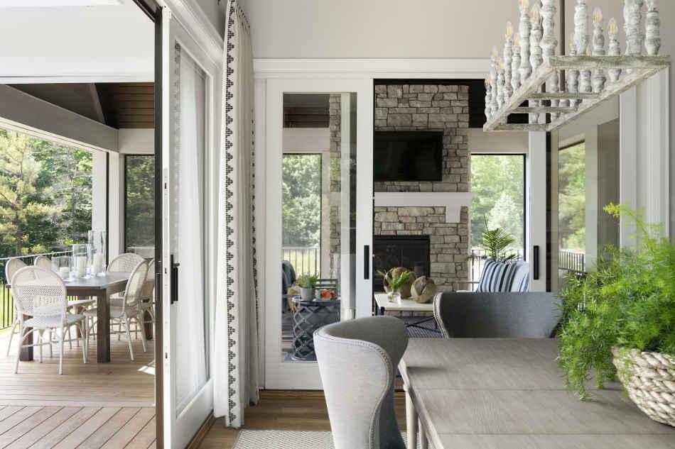Dining Room And Sunroom Interior Design