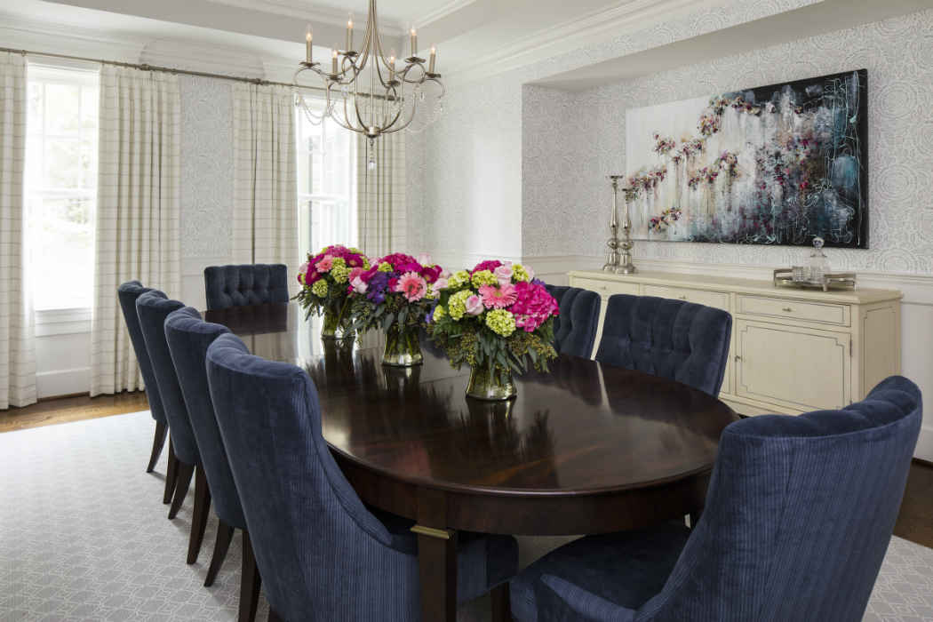 Dining Room Interior Design Potomac Drive Md