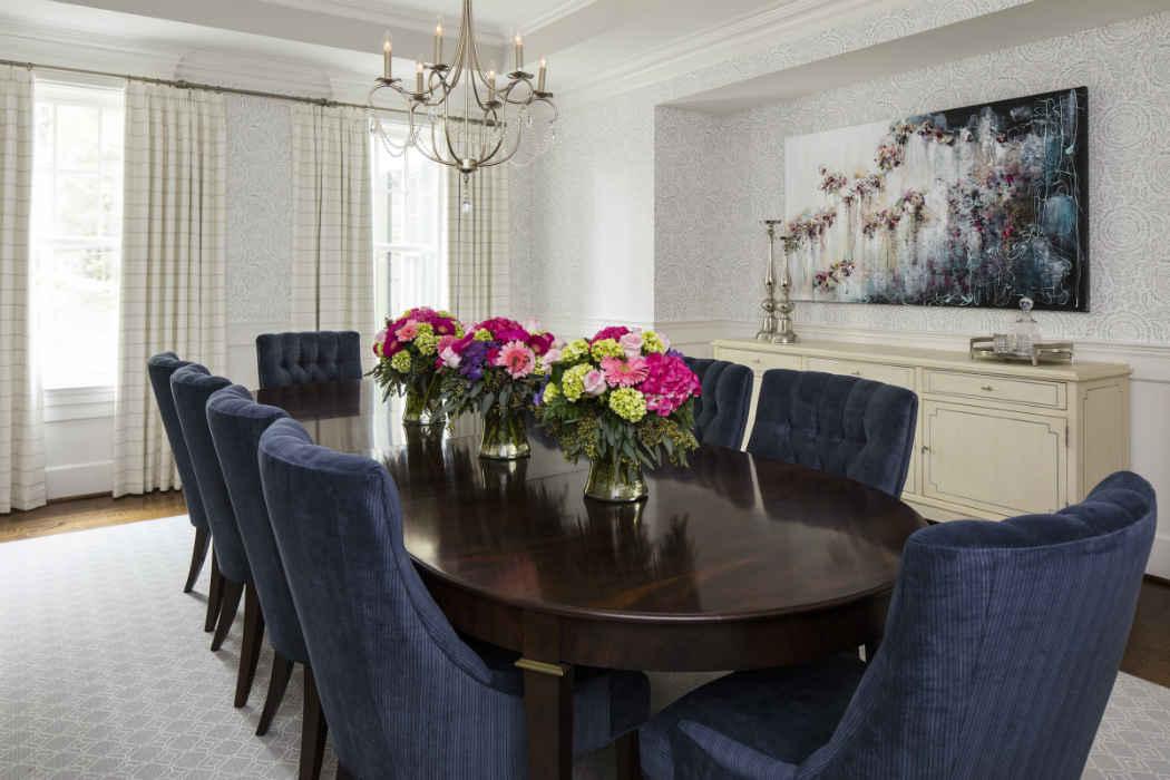 Dining Room Interior Design Potomac Drive Md