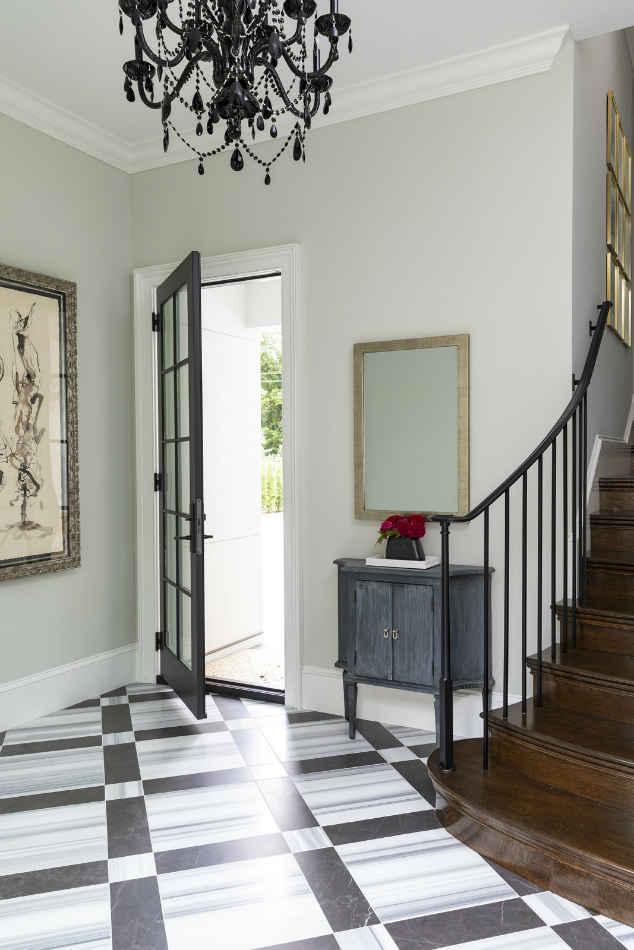 Elegant Rear Entrance By Martha Ohara Interiors