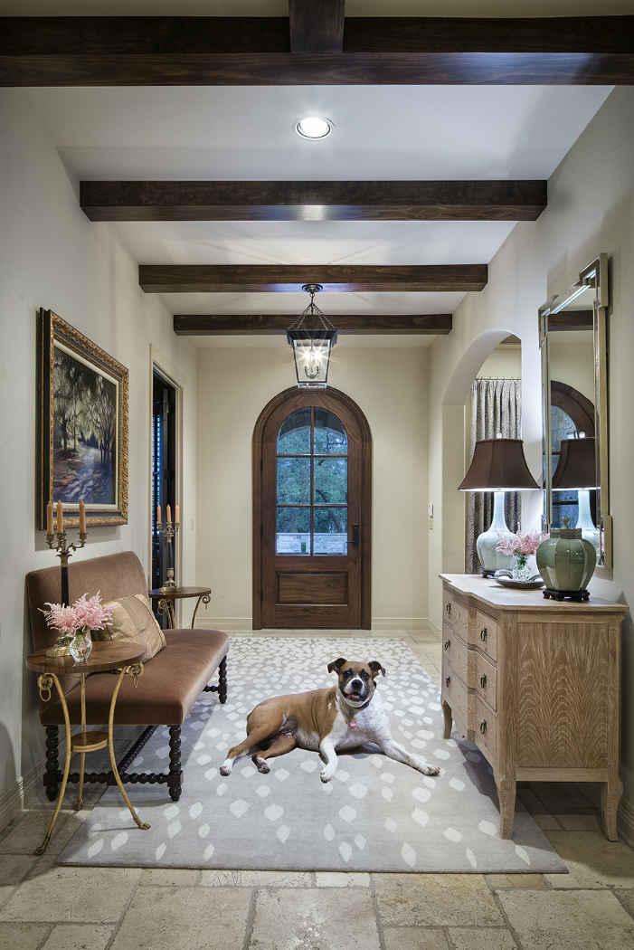 Entry Interior Design Bunny Run Tx