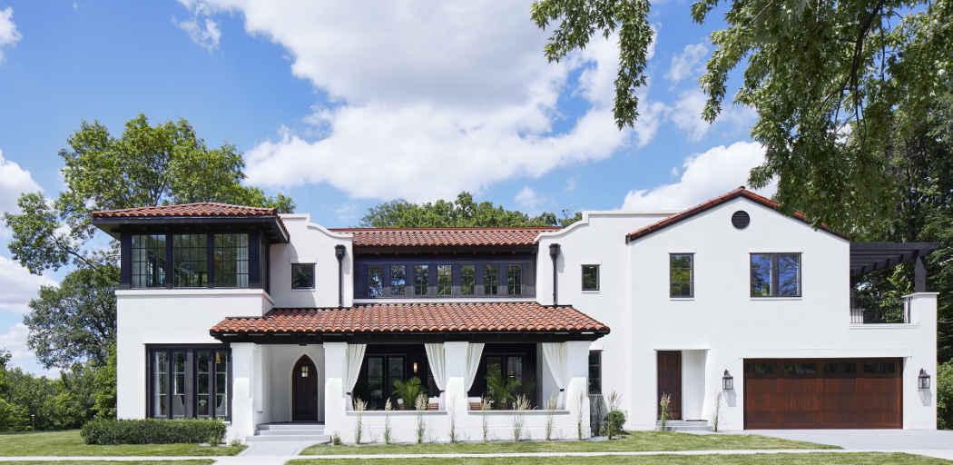 Exterior Home Design Mississippi River Boulevard Mn