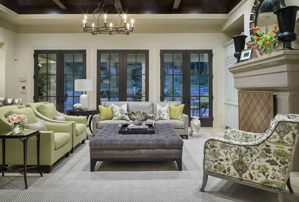Family Room Interior Design Austin Tx