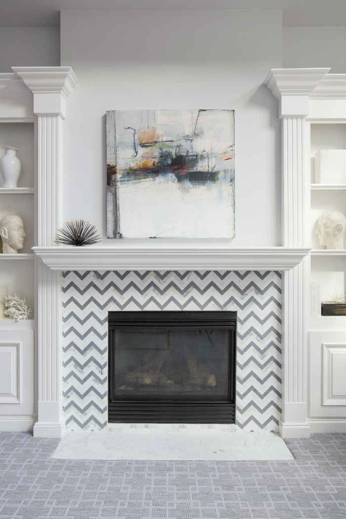Fireplace Accent Design By Martha Ohara Interiors