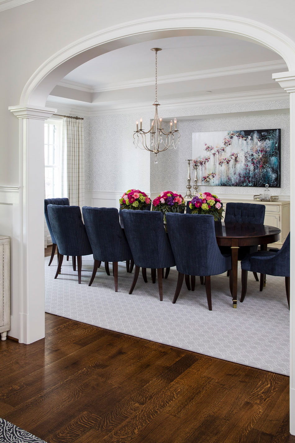 Formal Dining Room Interior Design Md