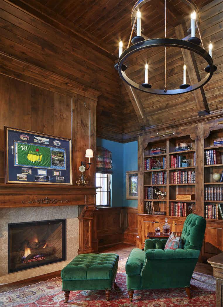 Grand Study Interior Design