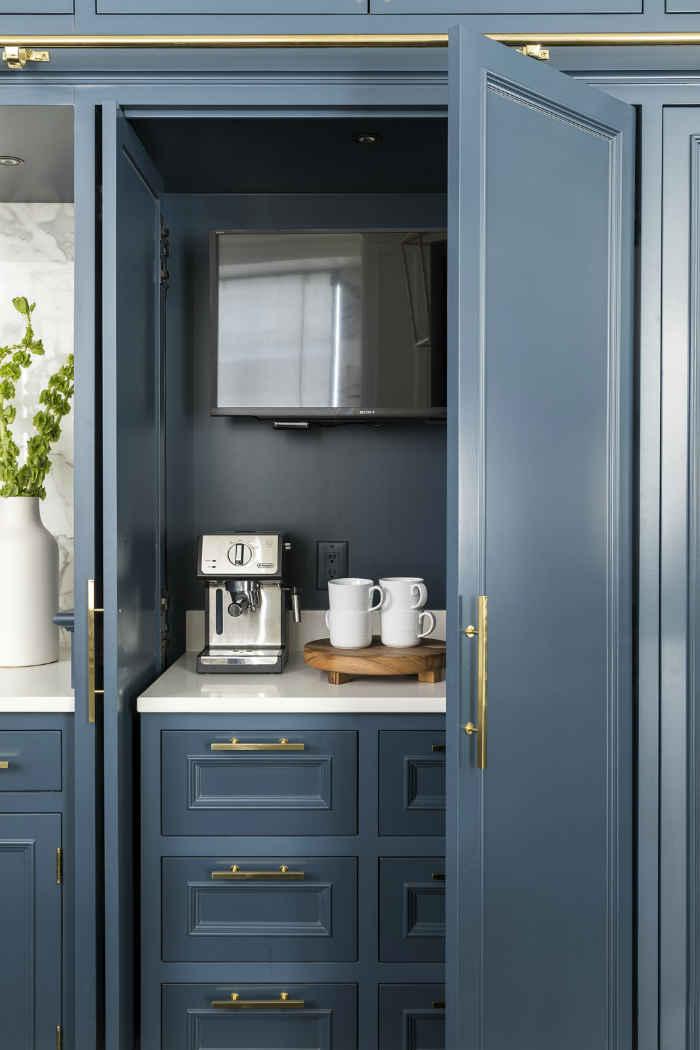 Kitchen Coffee Station Design