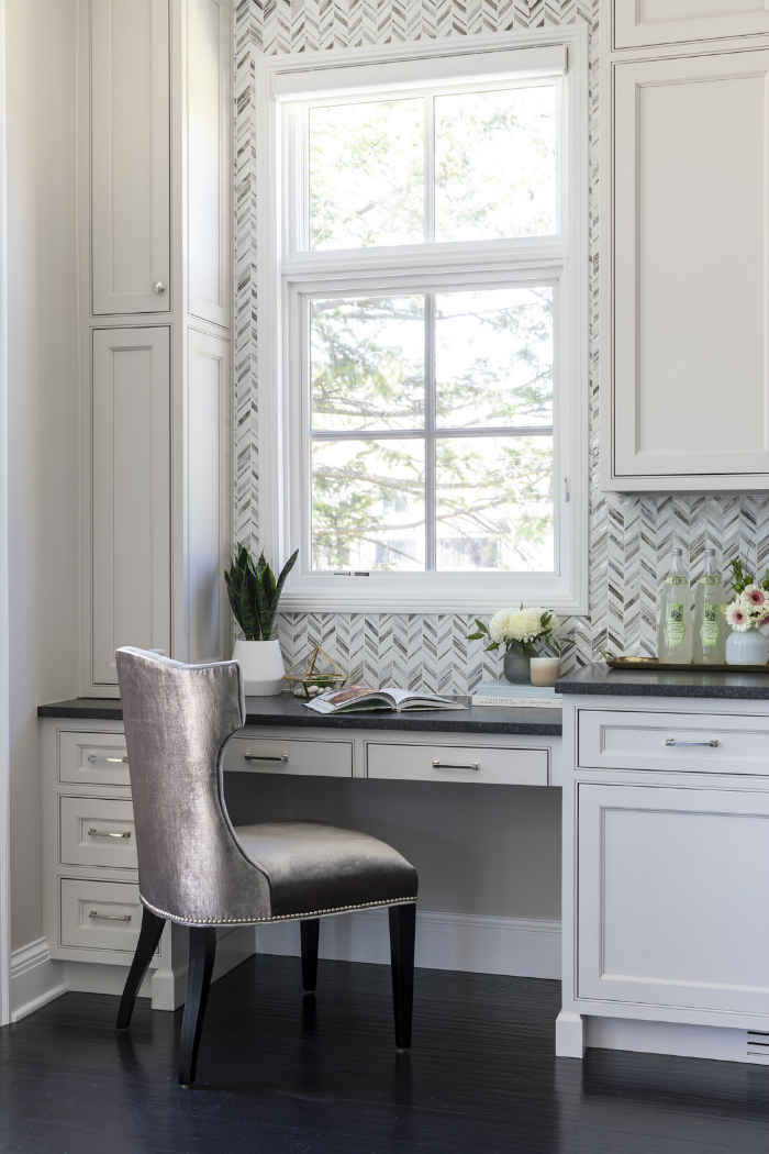 Kitchen Desk Interior Design