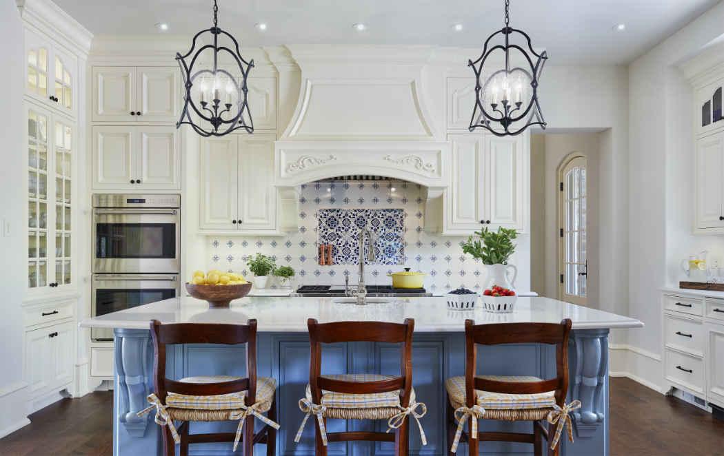 Kitchen Interior Design French Country Estate