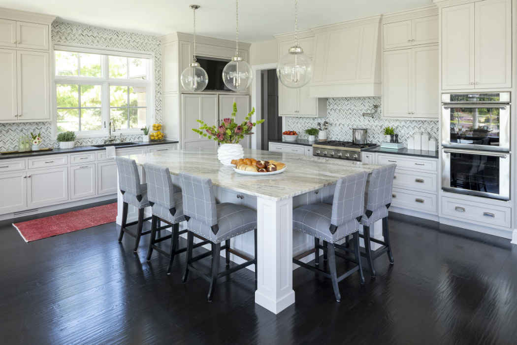 Kitchen Island Interior Design By Martha Ohara Interiors