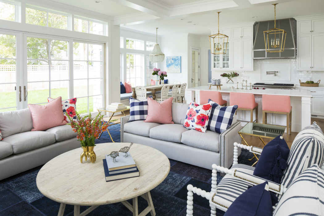Living Room Interior Design By Martha Ohara Interiors