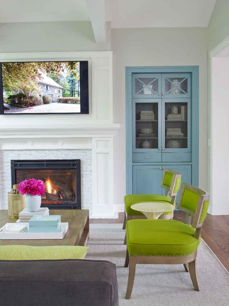 Living Room Interior Design Lake Virginia Mn