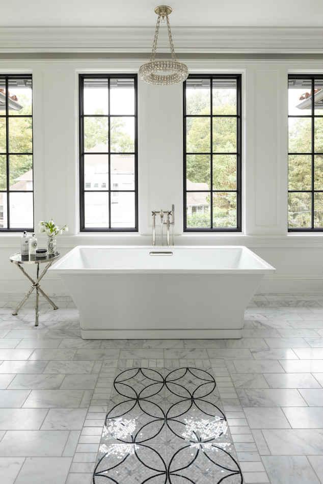 Master Bathroom Tub Design Interiors Minneapolis Mn