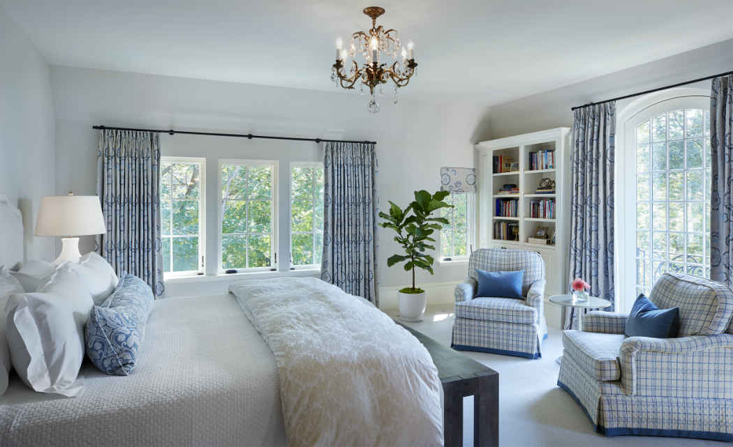 Master Bedroom Interior Design French Country Estate