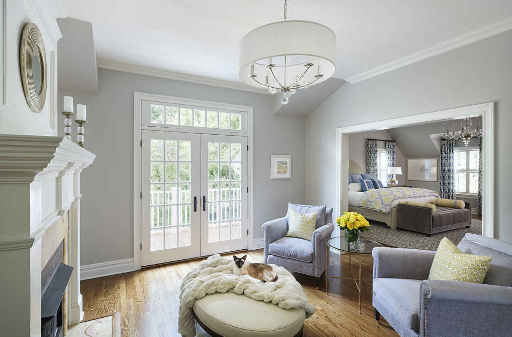 Master Bedroom Sitting Area Interior Design