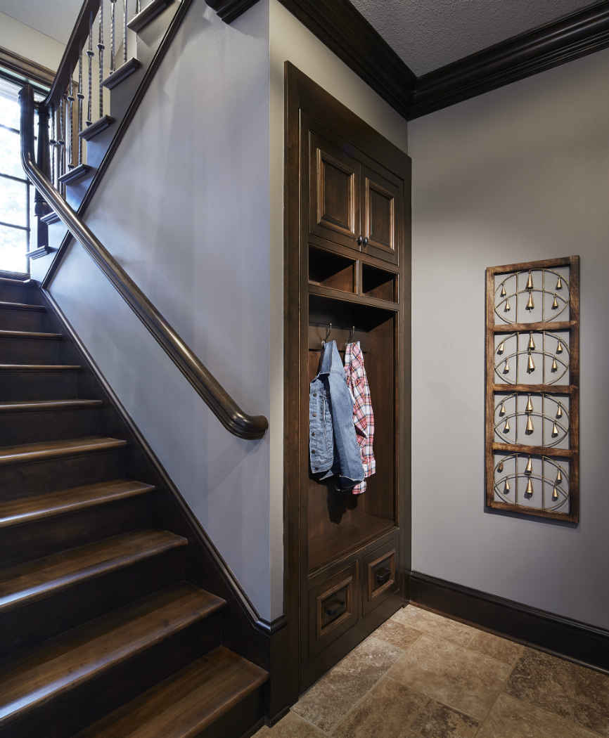 Mudroom Space Interior Design