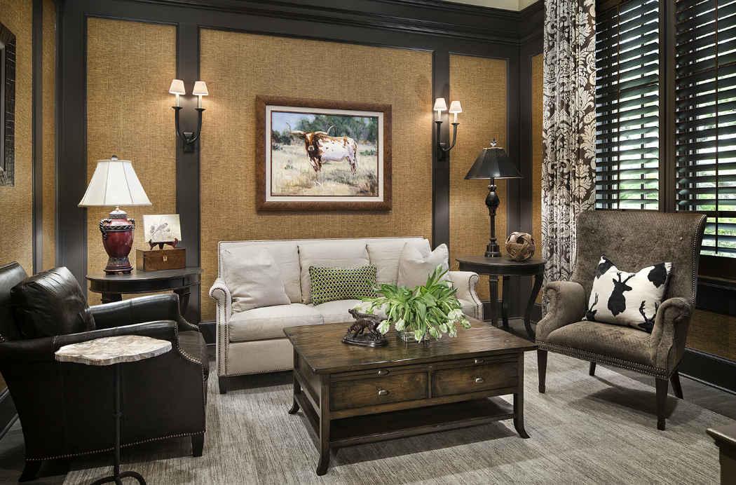 Neutral Tone Living Room Design