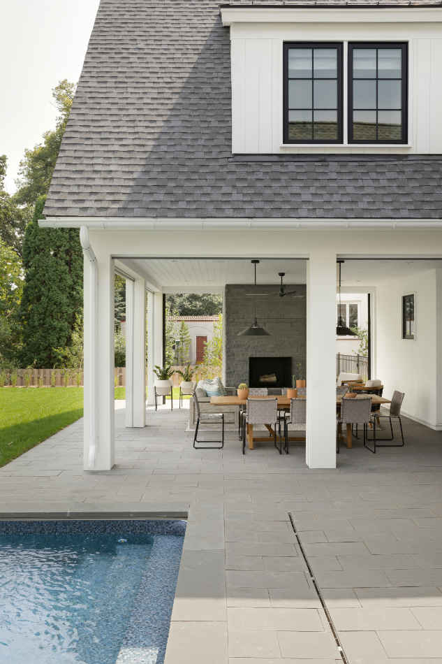 Patio Pool Design By Martha Ohara Interiors