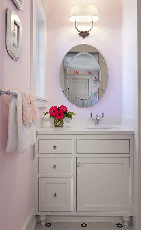 Pink Bathroom Interior Design