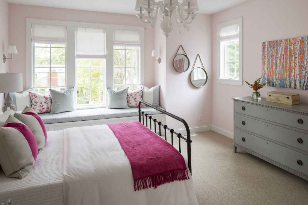 Pink Kids Room Interior Design Minneapolis