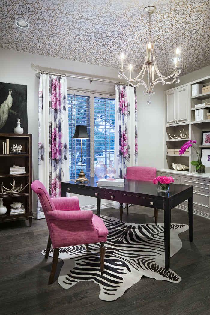 Pink Study Interior Design
