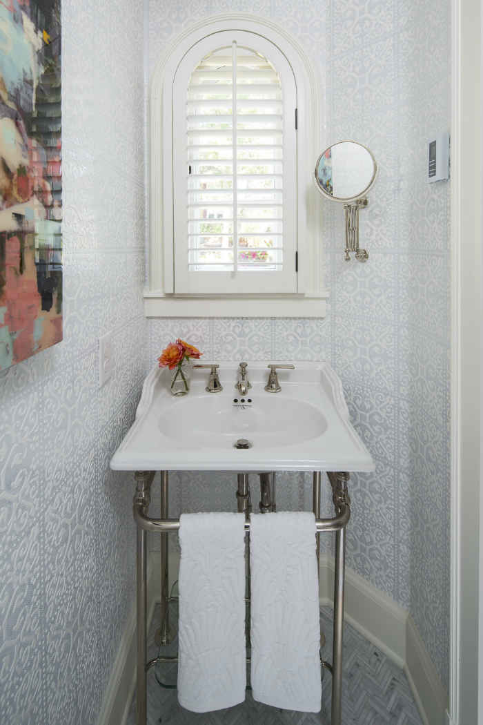 Powder Room Interior Design By Martha Ohara Interiors