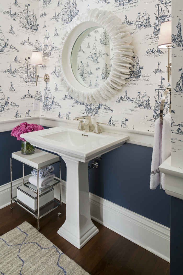 Powder Room Interior Design Washington Waters Wa