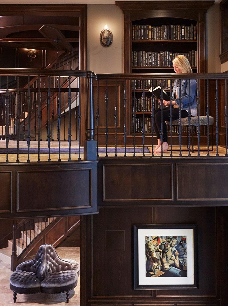 Reading Nook Interior Design Mn