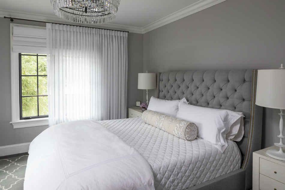 Soft Gray Bedroom By Martha Ohara Interiors