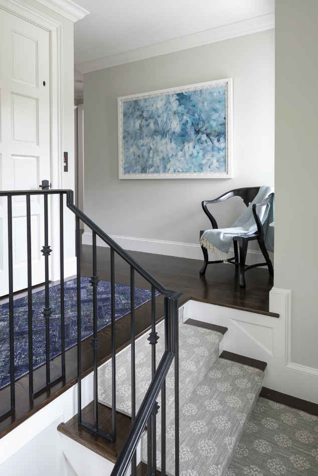 Upstairs Landing Design By Martha Ohara Interiors