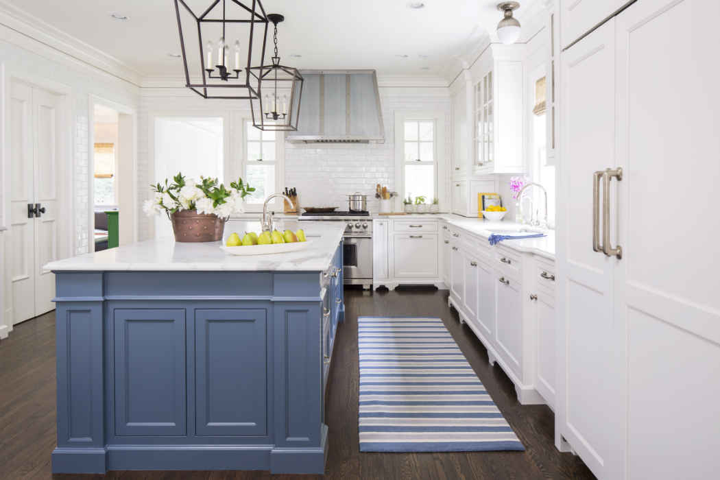 White Kitchen Interior Design Minneapolis