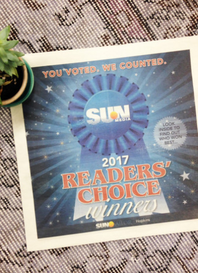 2017 Readers Choice Winner Hopkins Sun Sailor News 2017