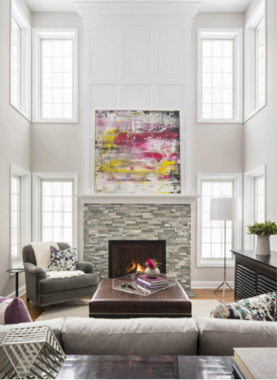 3 Red Hot Fireplace Makeovers Houzz Com Winter 2017
