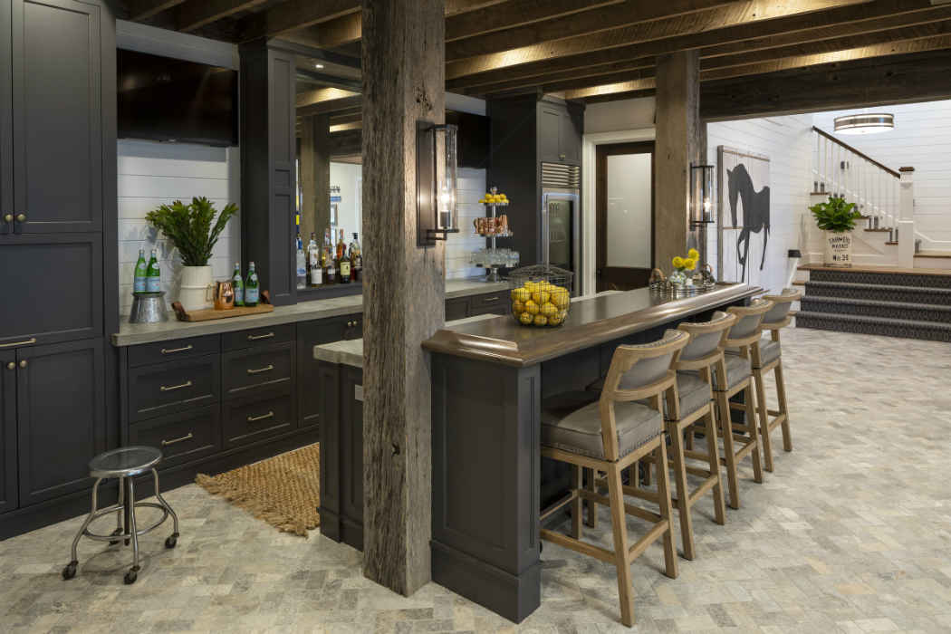 Bar Design By Martha Ohara Interiors
