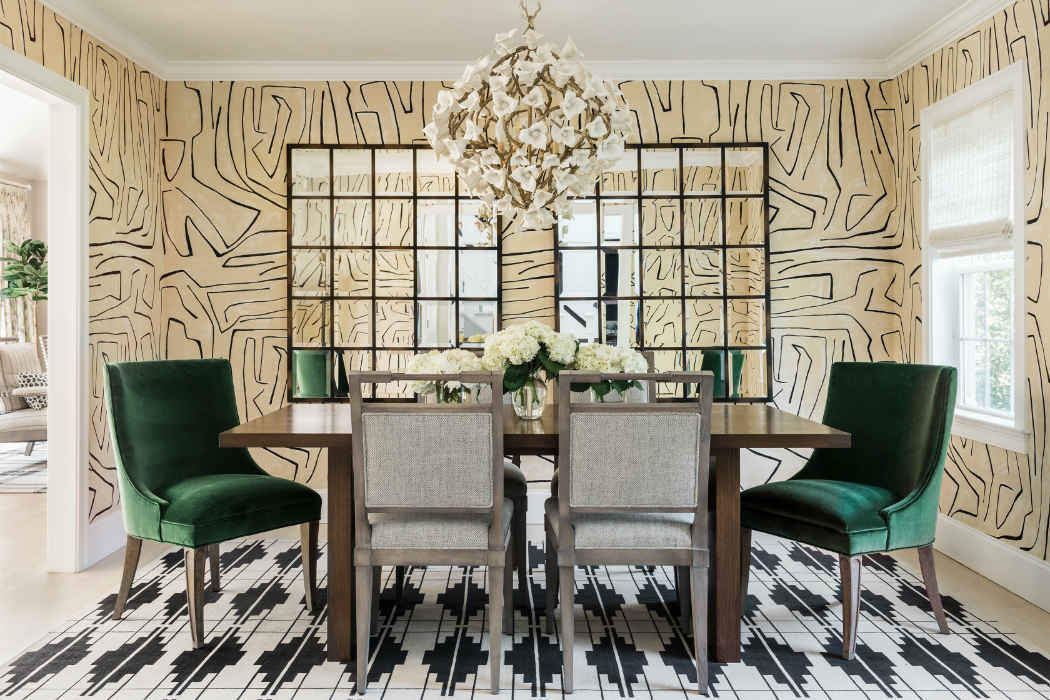 Dining Room Interior Design By Martha Ohara Interiors