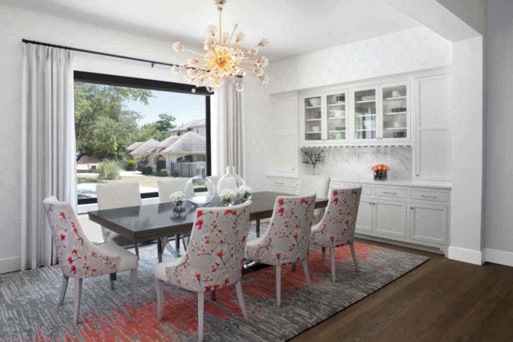 Formal Dining Room Interior Design Tx 1