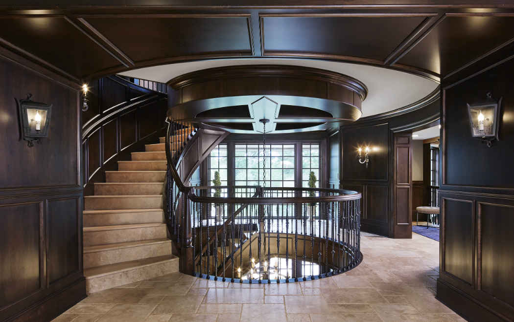 Grand Stairway Design By Martha Ohara Interiors