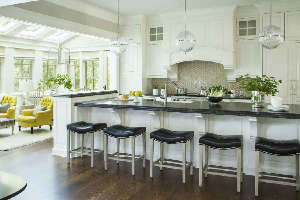 Kitchen Island With Black Barstools Design