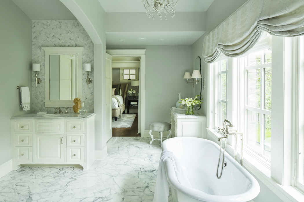 Master Bathroom Design By Martha Ohara Interiors