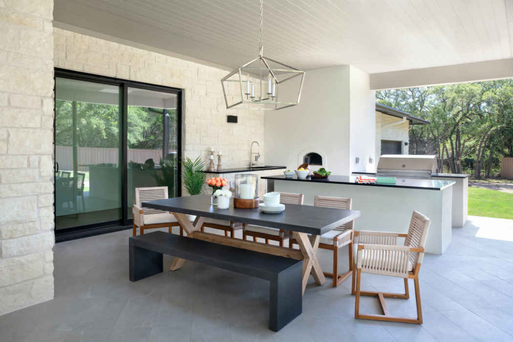 Outdoor Dining Design By Martha Ohara Interiors
