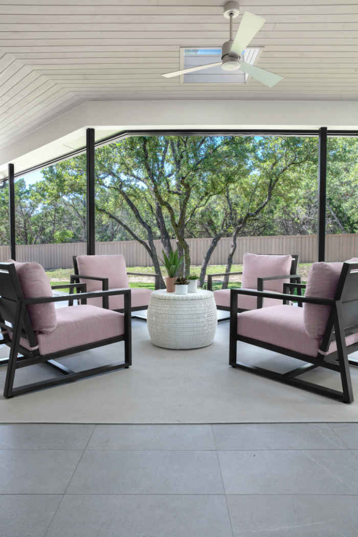 Outdoor Sitting Area Design By Martha Ohara Interiors