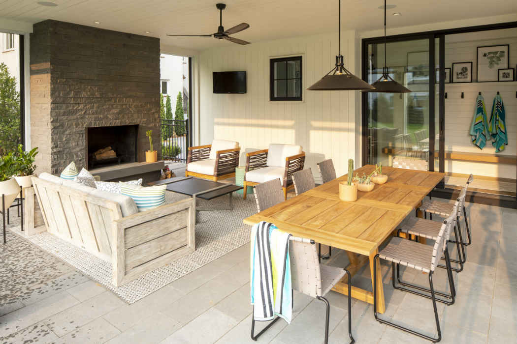 Patio Dining Design