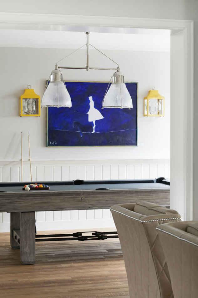 Pool Table Room Interior Design