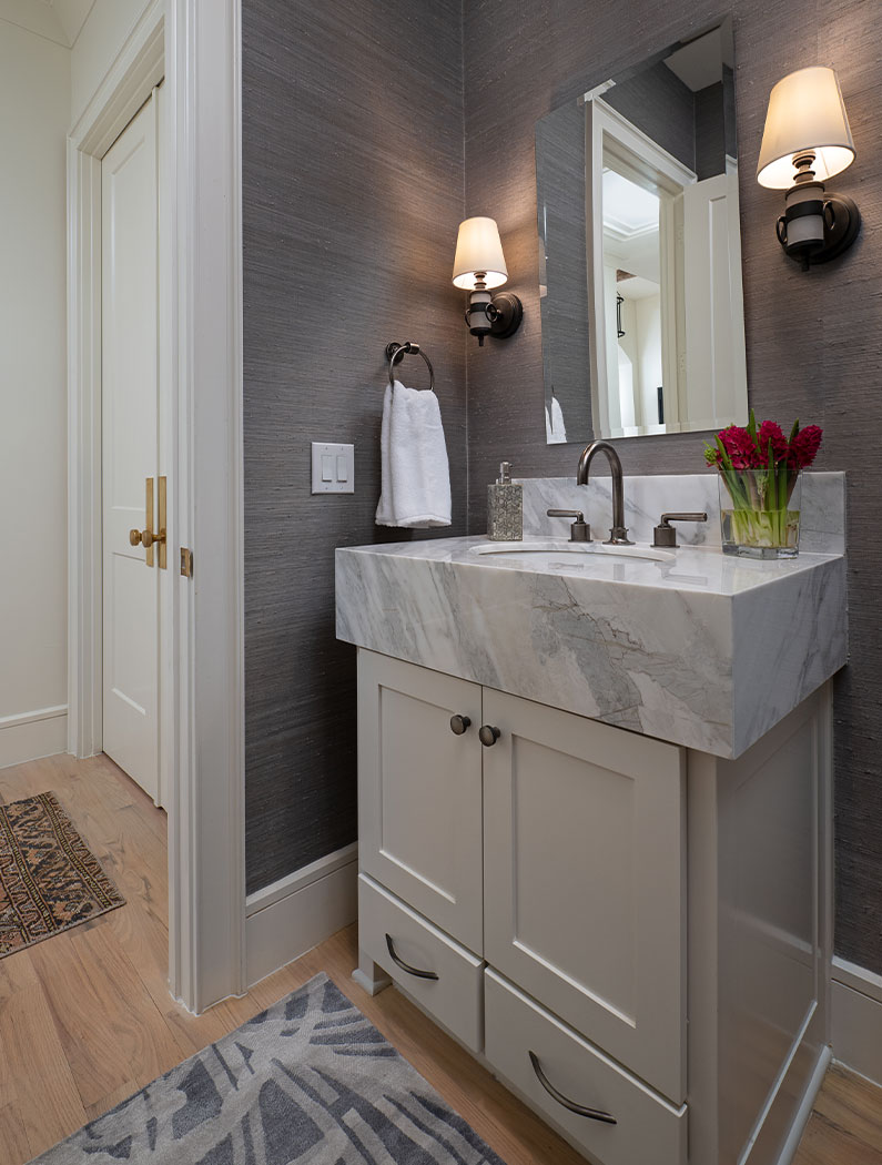 Powder Room Interior Design Tx