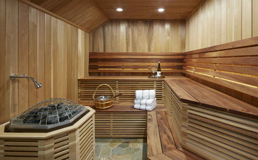 Sauna Interior Design Mn