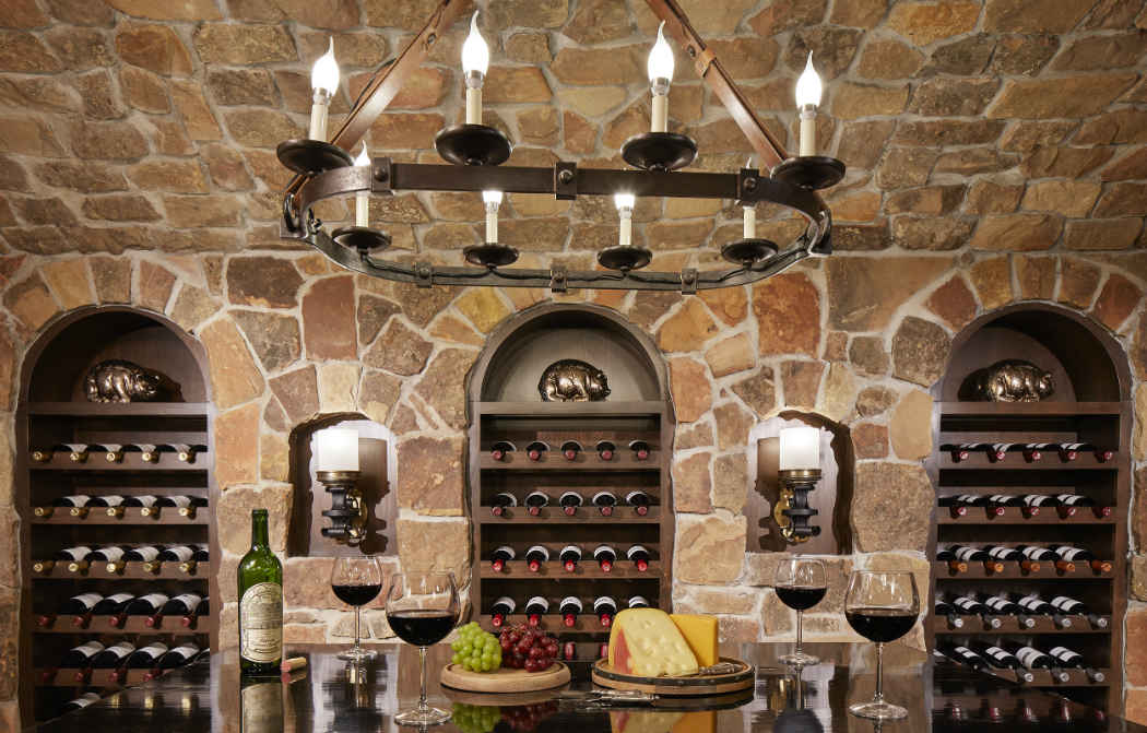 Stone Wine Cellar Design By Martha Ohara Interiors