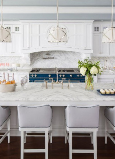 Traditional Coastal Home With Classic White Kitchen Home Bunch Blog Winter 2017